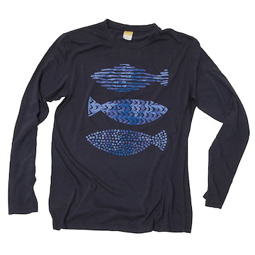 Long-Sleeve 3 Fish (Unisex)