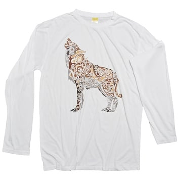 Long Sleeve Wolf (Unisex)