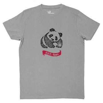 9b709d5bd ... Vintage Panda T-Shirt (Unisex)