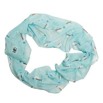 Blue-Footed Booby Infinity Scarf