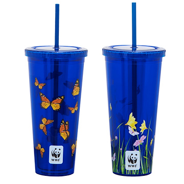 cups with monarchs