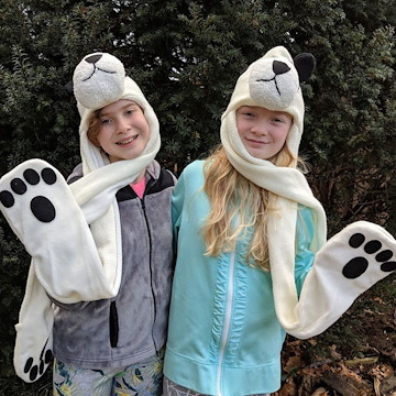 Panda Knit Hat with Paws  d1770ab24019