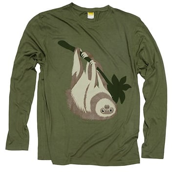 Long-Sleeve Sloth (Unisex)