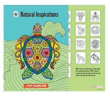 Coloring Book - Apparel and More from WWF