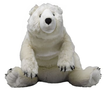 Giant Stuffed Polar Bear Images & Pictures - Becuo Giant Stuffed Bear