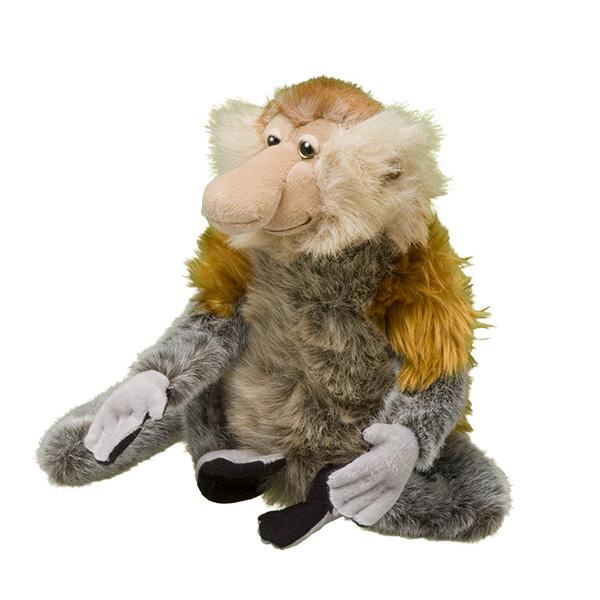 Plush monkey Donation thank you gift Adoptions from WWF