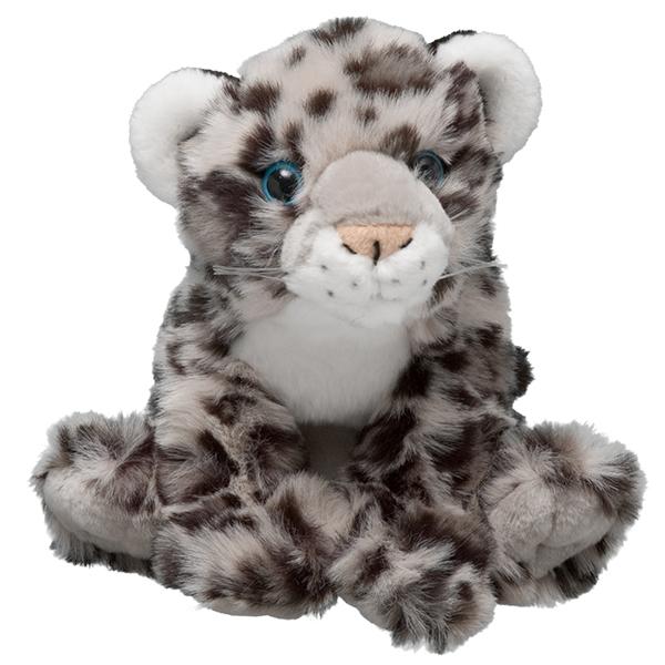 snow leopard plush